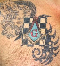 masonic tattoo