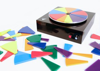 The ColorPlay is a musical instrument with a unique twist- colors make the music!