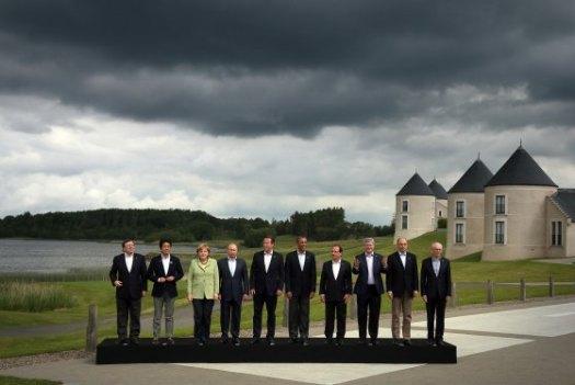 G8 2013 Ireland storm