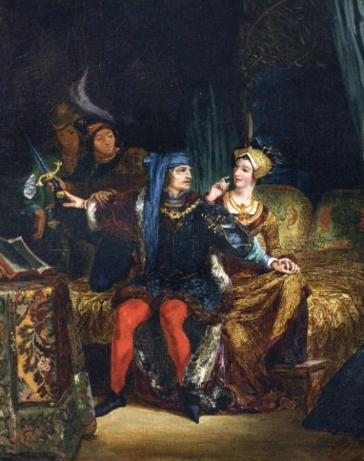 Charles VI and Odette de Champdivers-1826