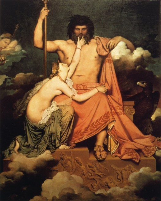 Jean Auguste Dominique Ingres jupiter-and-thetis-1811