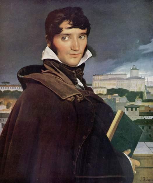 Portrait of Francois Marius Granet