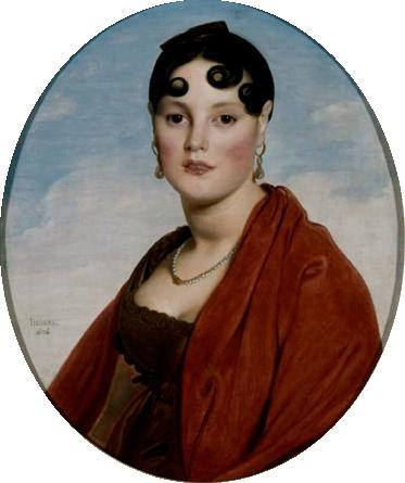 Portrait of Madame Aymon la Belle-Zélie-1806