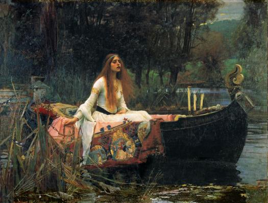 The Lady of Shalott-1888