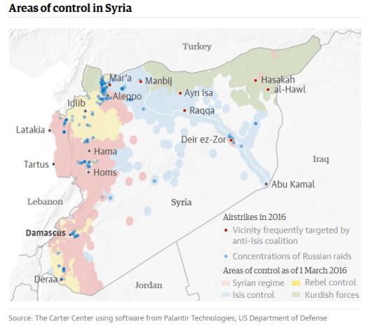 Syria 1 March 2016