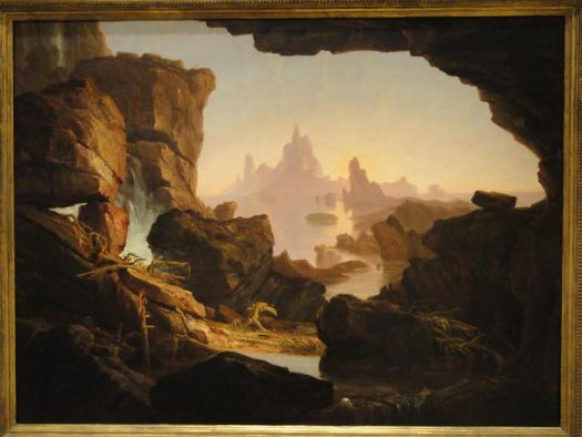 The Subsiding of the Waters of the Deluge-1829