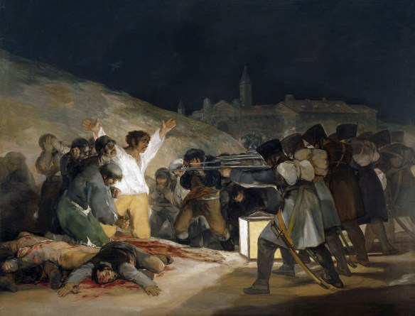 Execution Of The Defenders Of Madrid 3Rd May 1808 (1814)