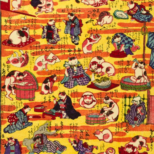 Utagawa Kuniyoshi cats 4