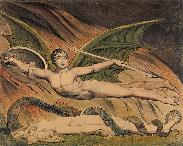 Satan Exulting Over Eve 1795