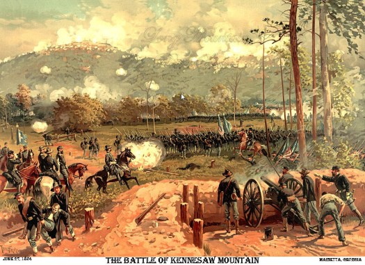 Battle of Kennesaw Mountain