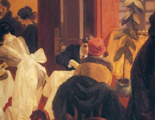 Edward Hopper - New York Restaurant - 1922