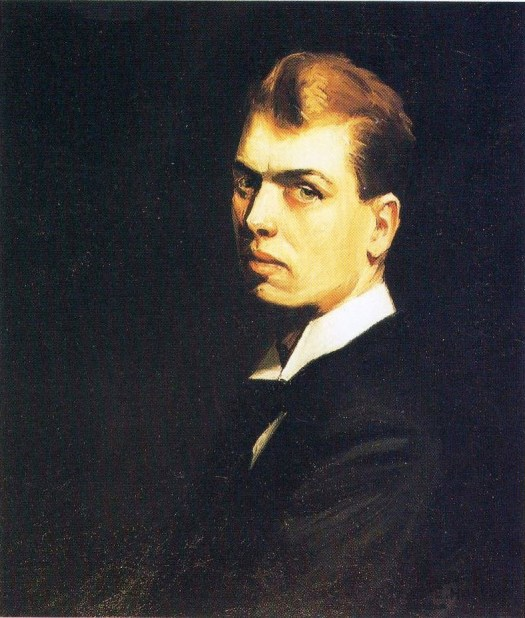 Edward Hopper - Self-Portrait - 1906