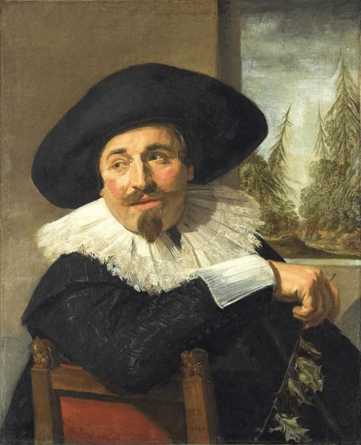 Frans Hals - self portraits