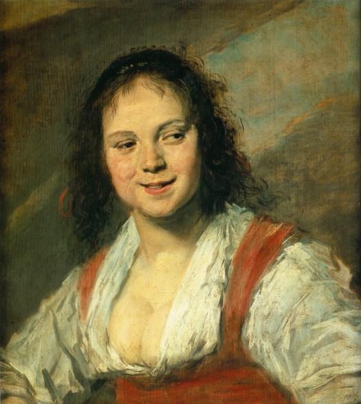 Frans Hals - Gypsy Girl 1628-30