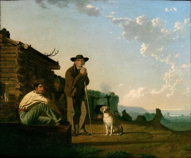 George Caleb Bingham - The Squatters - 1850