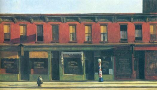 Edward Hopper - Early Sunday Morning - 1930