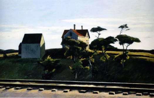 Edward Hopper - New York, New Haven, and Hartford - 1931