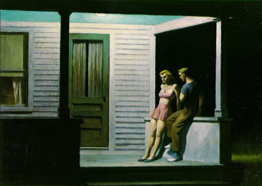 Edward Hopper - Summer Evening - 1947