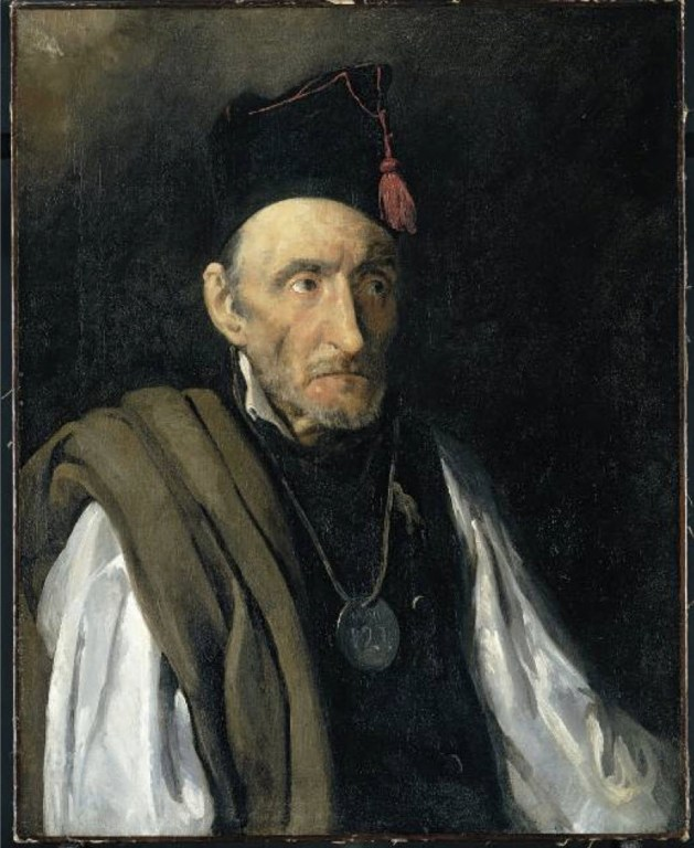Theodore Gericault - Man Suffering form Delusions of Military Rank - 1822