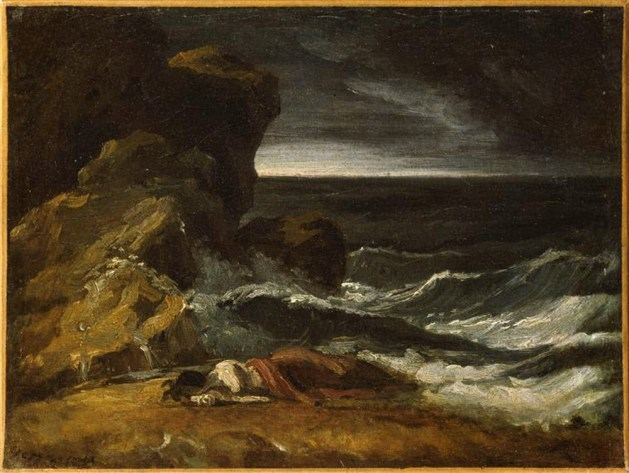 Theodore Gericault - Shipwreck - unknown
