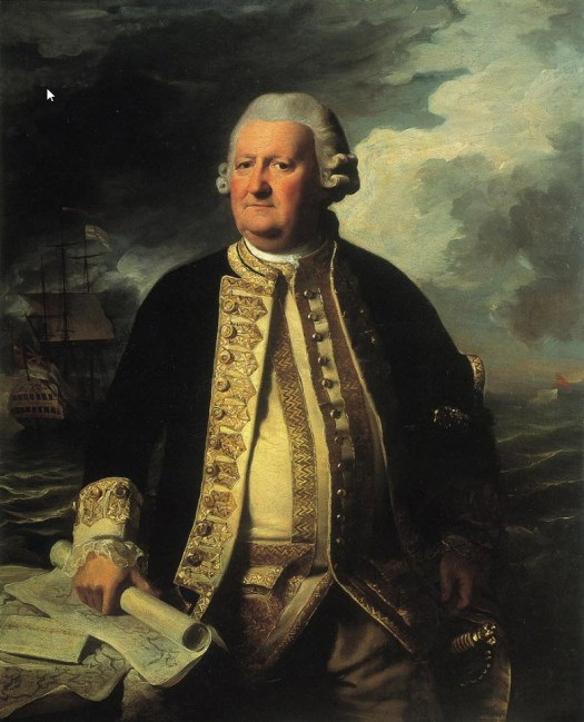 John Singleton Copley - Clark Gayton Admiral of the White - 1779