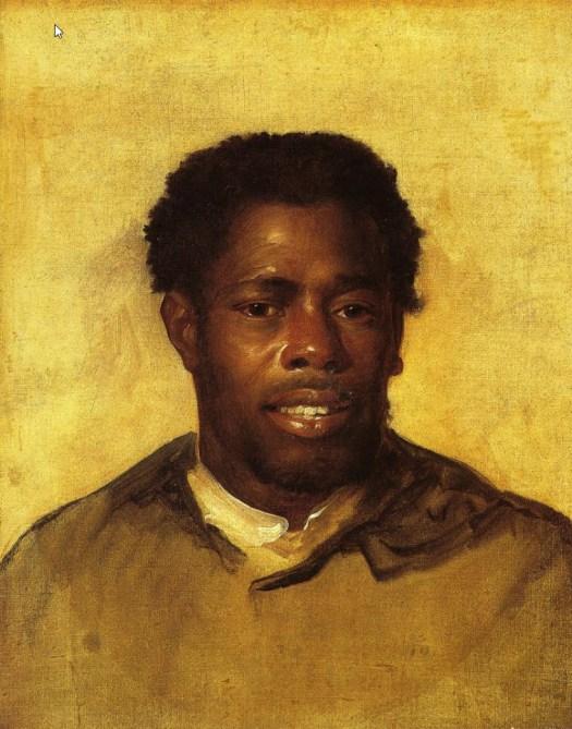 John Singleton Copley - Head of a Negro - 1777-78