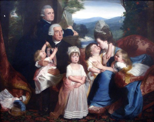 John Singleton Copley - Portrait of Familie Copley - 1776