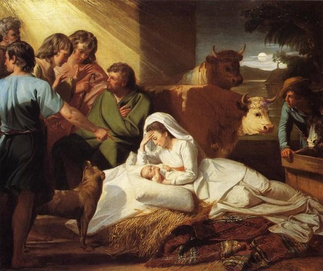 John Singleton Copley - The Nativity - 1776-77