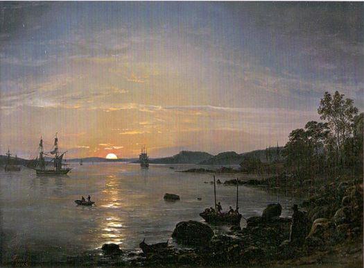 Johan Christian Dahl - Holmestrand - 1843