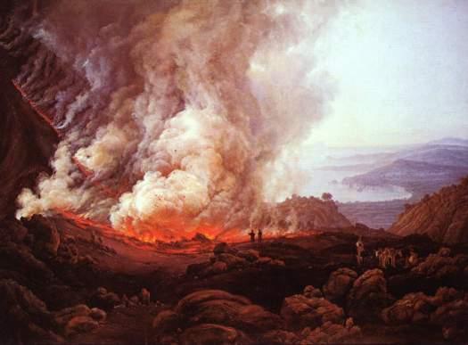 Johan Christian  Dahl - Vesuvius