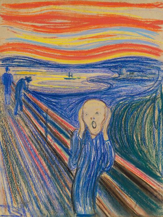 Edvard Munch - The Scream (4) - 1895