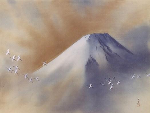 Yokoyama Taikan - Mount Fuji 2