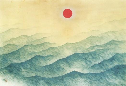 Yokoyama Taikan - Ocean