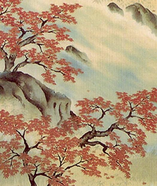 Yokoyama Taikan - Trees