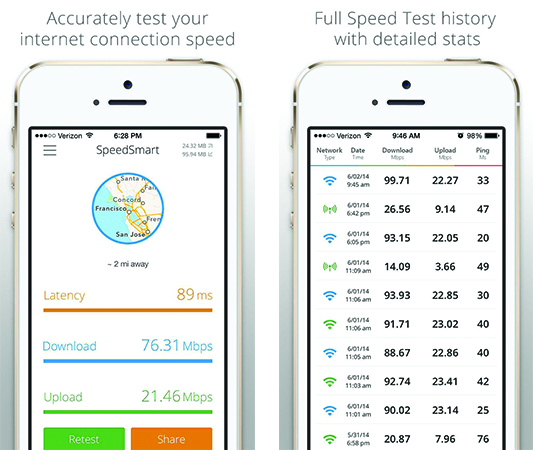 Best WiFi Speed Test Apps For iPhone-Speedtest-Speed-Smart