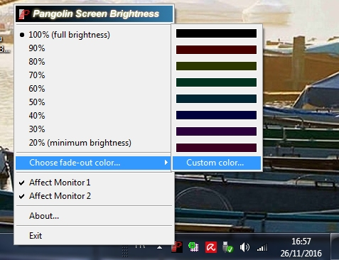 night mode for pc windows 7 free download