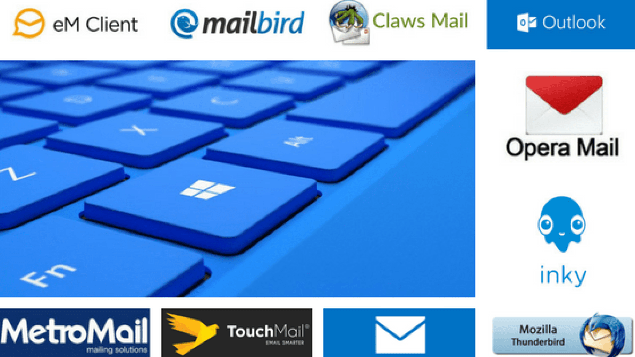 Email Client For Windows 10 Top 9 Best and Free Software | TechnoClever
