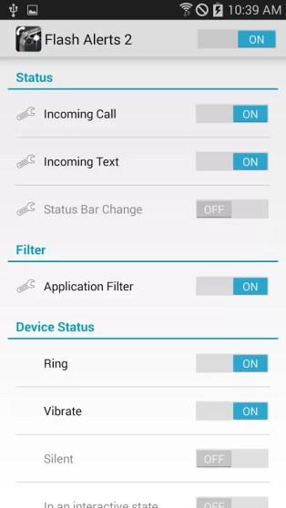 122 - برنامج تشغيل الفلاش عند الاتصال للاندرويد Flash Alerts 2