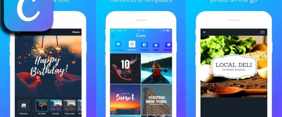مزايا تطبيق كانفا Canva لتصميم البوسترات و الصور للاندرويد تطبيقات اندرويد تطبيقات تعليمية