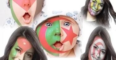 تطبيق رسم العلم على الوجه للاندرويد Flag Face تطبيقات اندرويد تطبيقات مبتكرة