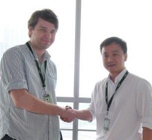 Andrew Mason and Yun Ouyang