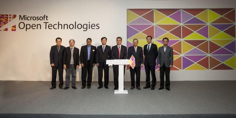 微软开放技术(上海)有限公司宣布成立