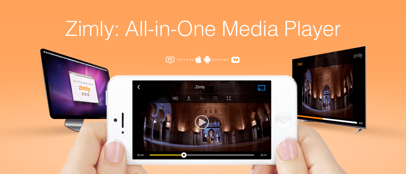 Zimly, All-in-one Media Player App, to Be Featured on Google
