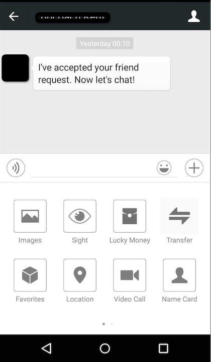 """WeChat makes it super easy to send friends money or """"lucky money""""."""