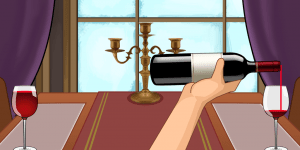 Pouring Wine_Smart Glove Rehab Game