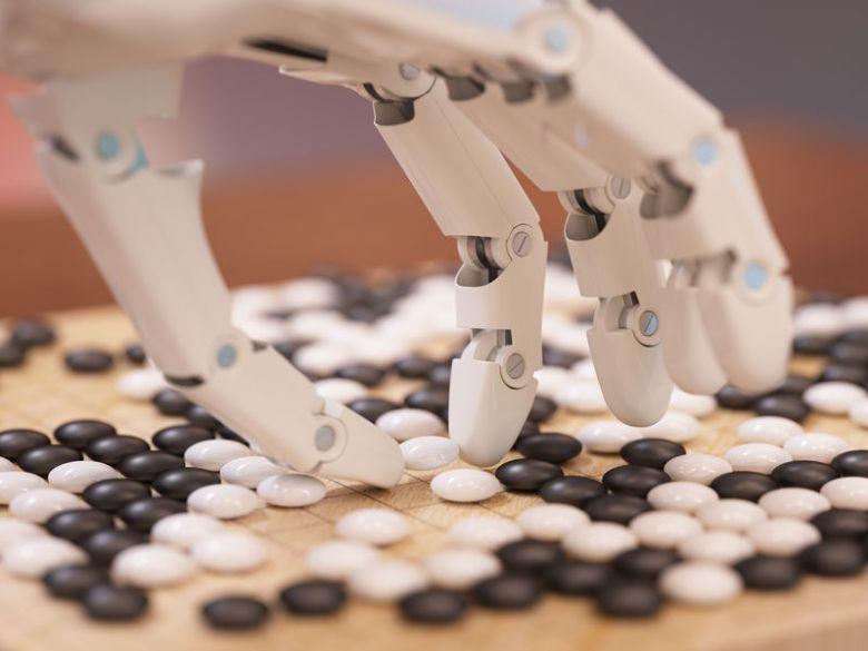 AI robotics go sensetime