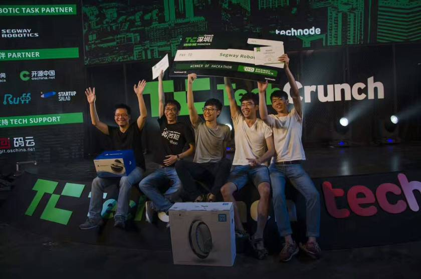 Roadshr came out as the overall winner of the hackathon (Image credit: Leon Lv)