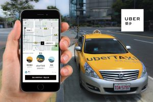 Uber's new offering in Taiwan - UberTAXI (Image credit: Uber)