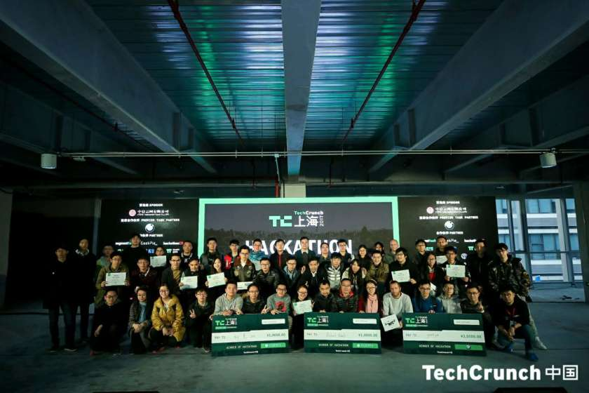 All the winners of TechCrunch Shanghai hackathon