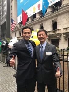 Jianpu's CEO Xie Daqing,